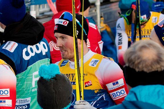 Tjuvstart kan koste Iversen dyrt: – Antar at Tour de Ski vil være over hvis jeg får gult kort her