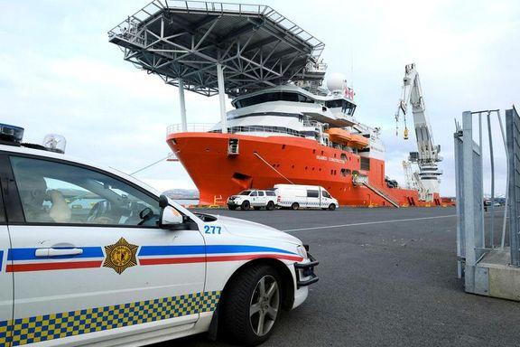 Bergensk skip tatt i arrest under skattejakt