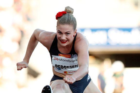 Pedersen med norsk rekord på 100 m hekk