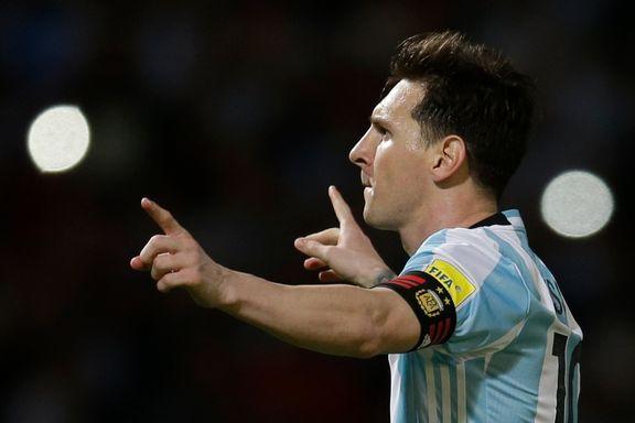 Messi og Argentina topper fortsatt FIFA-rankingen