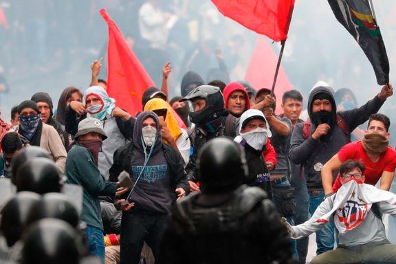 Regjeringen droppet drivstoff-subsidieringen. Nå er det unntakstilstand og demonstrasjoner i Ecuador