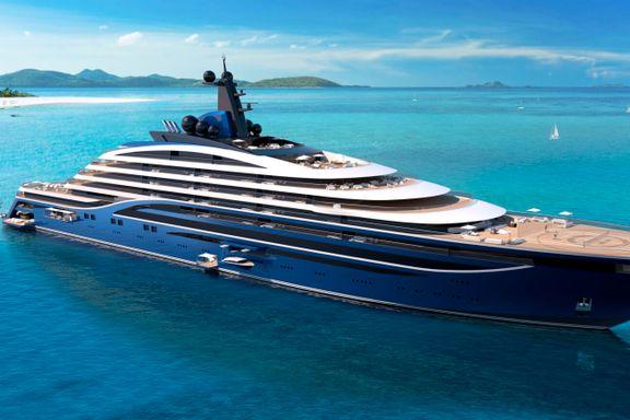 Norsk verftsgruppe skal bygge verdens største yacht