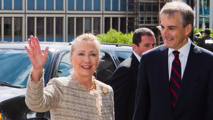 Støre fyller 60 år: Gratulert av Hillary Clinton