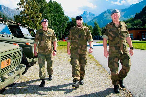 De tilhører siste militærbase mellom Bergen og Trondheim - nå skal de bort