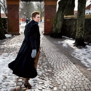 Öde Nerdrum sjarmerte alle i Farmen Kjendis. Nå vender han hjem til malerkunsten.