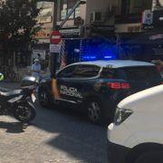 Ti skadet da bil kjørte på fortau i Marbella