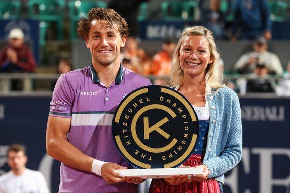 Ruud tok sin tredje strake ATP-tittel – kopierte Murray-bragd