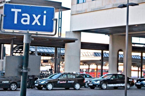 Taxisjåfør slo til passasjer - må i fengsel