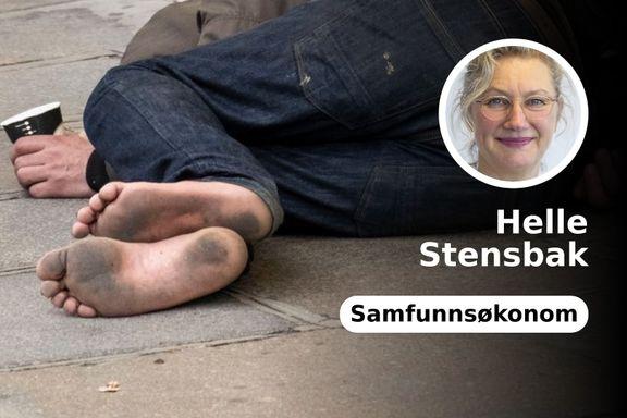 Du kan miste 30 år av livet ditt. Risikoen for sykdom og vold øker. Diagnose: hjemløs.