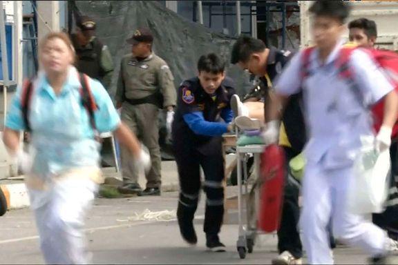 Thailandsk politi jakter nye pågripelser etter bombeangrepene og brannene sør i landet