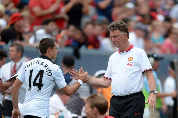 Etter denne van Gaal-beskjeden dro Chicharito fra United