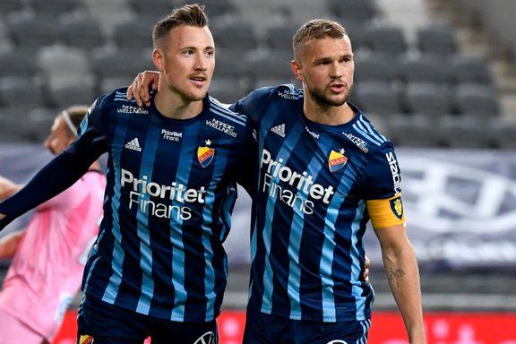 Nordmann scoret i ellevill snuoperasjon i Sverige