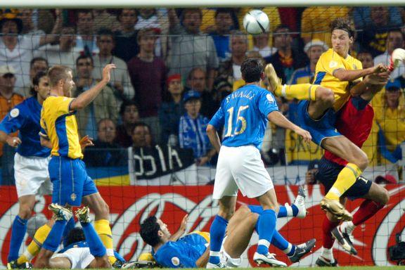 Slik spilles fotball-EM: Ny duell mellom Sverige og Italia - 12 år etter Zlatans kunstscoring