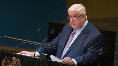 Syrias utenriksminister ber flyktningene vende hjem