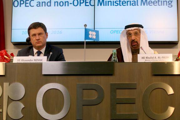 OPECs kutt i oljeproduksjonen er ikke nok for å øke oljeprisen
