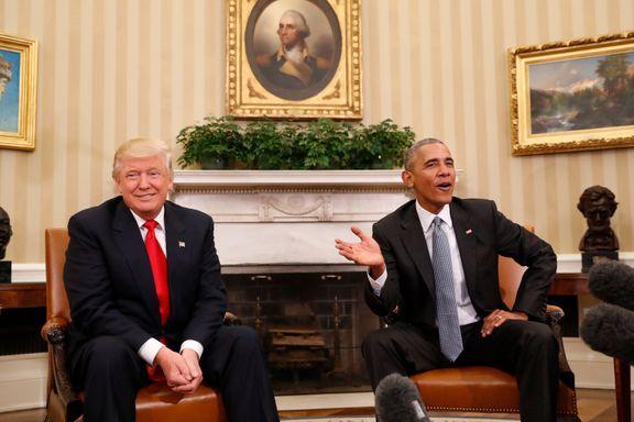 Her er Obamas ni viktigste snubletråder før Trump overtar som president