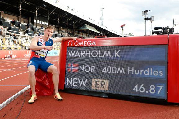 Warholms tidligere trener: – Det er verdensrekorden han er ute etter