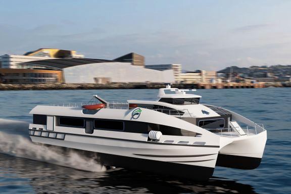 Hurtigbåtene skal bli utslippsfrie. Denne kan bli løsningen.