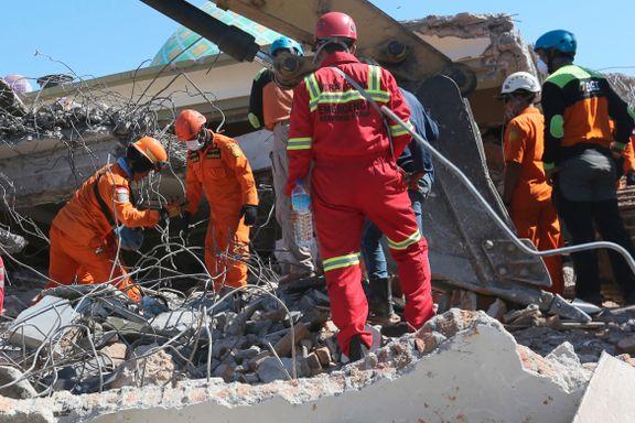 347 døde og over 165.000 hjemløse etter jordskjelvet på Lombok