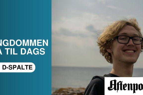 Simon Omsland Zakariassen (17): For meg er klima det samme som en interessant tv-serie