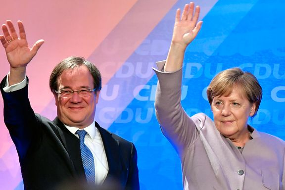 Klossete Merkel-arvtager rotet bort favorittstempelet