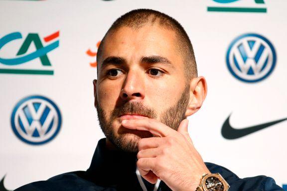Benzema utestenges fra landslaget etter sextape-skandalen