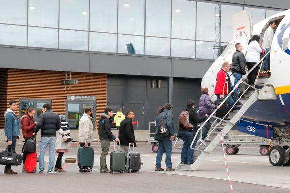 London-trafikken rett til himmels da Ryanair kom til Gardermoen