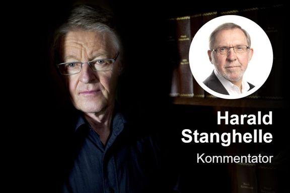 Harald Stabell var eneren i de opprørskes tjeneste. Sylskarp og engasjert, klar og vennlig.
