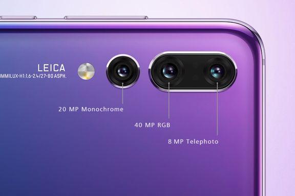 Med tre linser kan dette mobilkameraet både zoome og se i mørket.