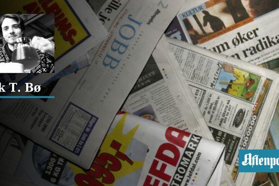 Mediene har plassert oss innenfor et gjerde. Og de mater oss skitt.