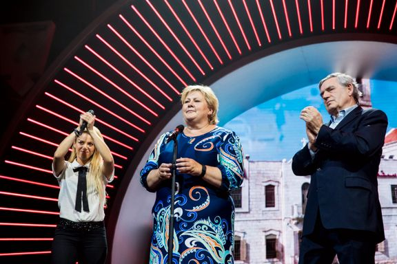 Solberg delte scene med Shakira i Hamburg