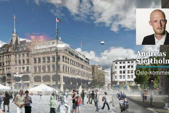 Byrådets sentrumsforslag: Oslos bilfrie revolusjon ligner mer på et teselskap   Andreas Slettholm