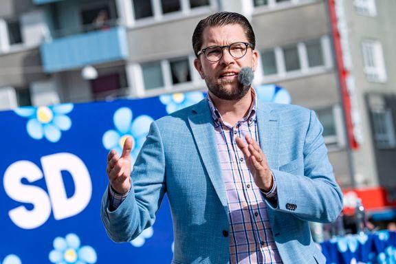 Svensk TV felt for at de ikke tok avstand fra SD-utspill
