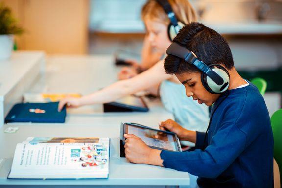 Skolebok + iPad er aldri sløseri