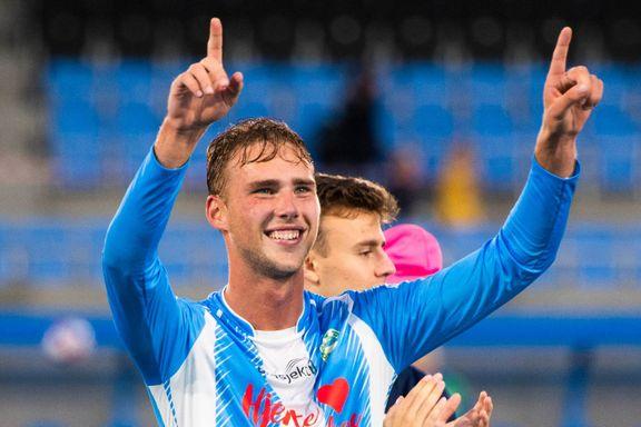 Magnus Grødem har signert treårskontrakt med Sandnes Ulf