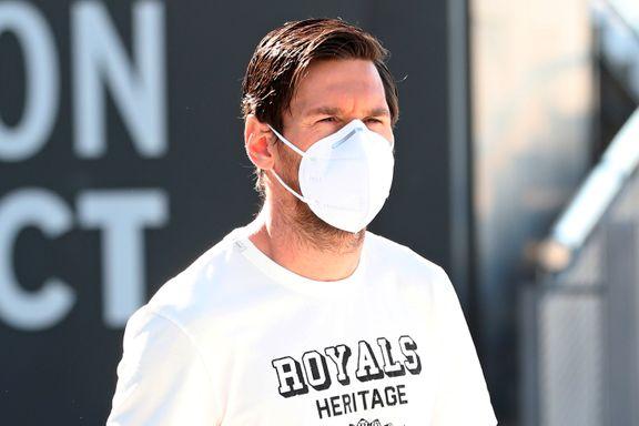 Messi trener med munnbind, men snart får fotballfansen tidenes meny