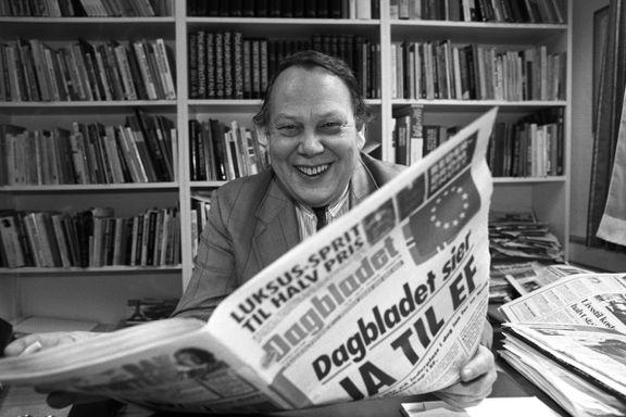 Harald Stanghelle: Arve Solstad var den kanskje viktigste pressemannen i sin generasjon
