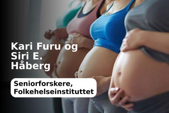 Helseregisterdata kan gi svar på om mors medisinbruk gir risiko for fosteret