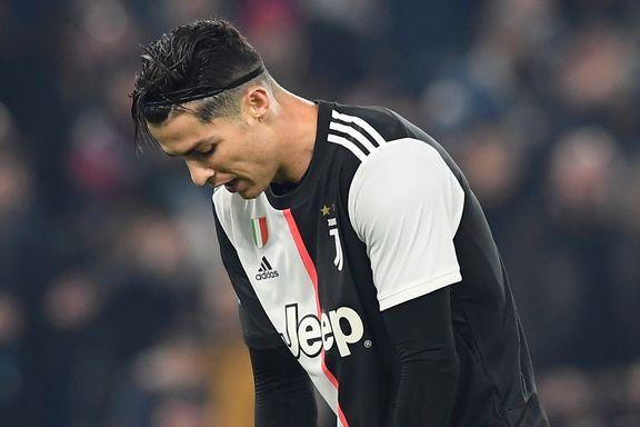 Ronaldo-scoring til ingen nytte da Juventus ble satt på plass