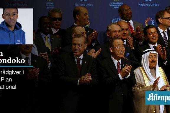 Mennesker lider. Her er fem krav til verdens ledere.