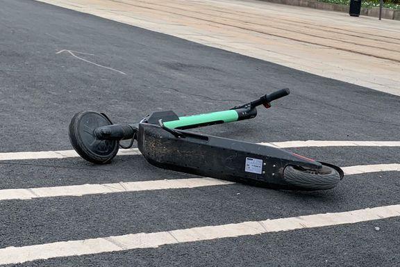 Forsikringsselskap advarer mot å leie elsparkesykkel: – Grovt uansvarlig