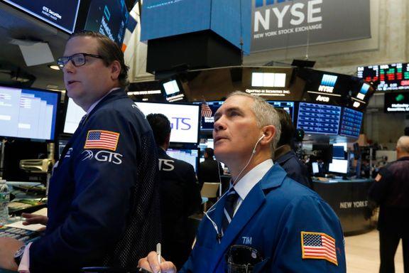 Kina-frykt ga ny nedgang på Wall Street