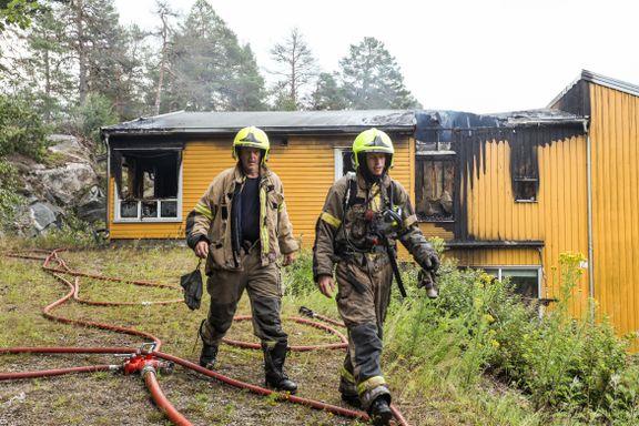 Brannmannskapene hindret storbrann i omsorgsbolig