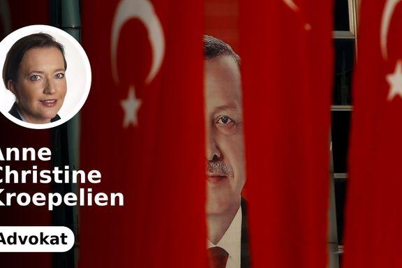 President Erdogan er blitt rettsdommer. Europa kan vente seg mange tyrkere med rett på asyl.