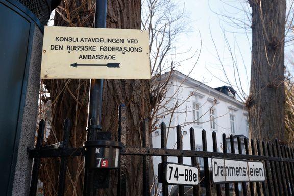 Russisk diplomat tatt for fyllekjøring på Frogner