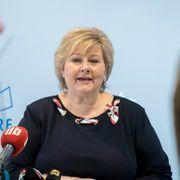 Erna Solberg måtte fjerne Facebook-post etter muslimhets