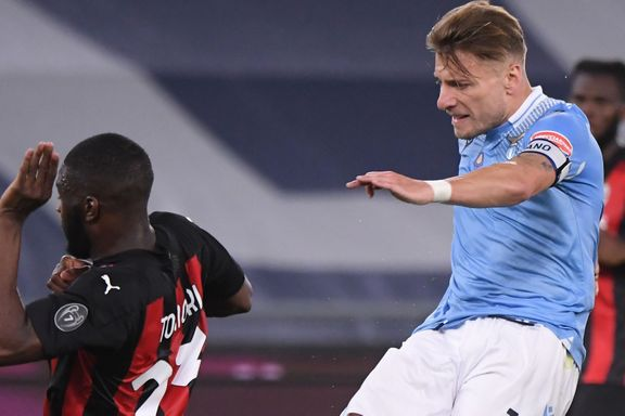 Senket av Lazio - AC Milan lever Champions League-farlig