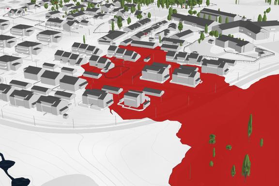 Ny 3D-modell viser omfanget av skredkatastrofen