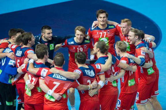 En halv million så håndballgutta slå Østerrike i EM