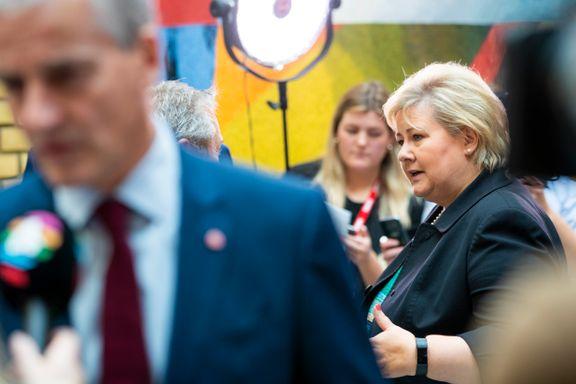Solberg: «Langt fra sikkert» at abortloven blir endret